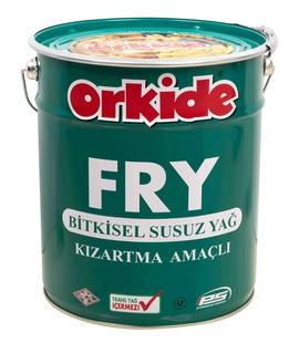 - Orkide FRY Silindir Teneke 18 LT